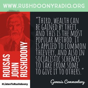 Rushdoony Quote 65