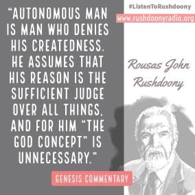 Rushdoony Quote 75