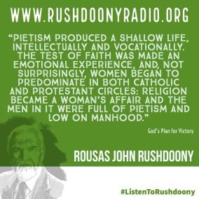 Rushdoony Quote 78