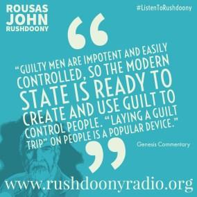 Rushdoony Quote 85