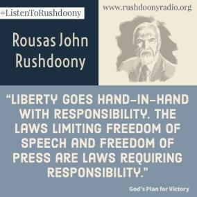 Rushdoony Quote 100