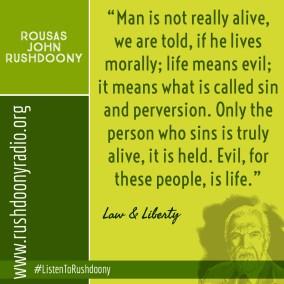 Rushdoony Quote 104