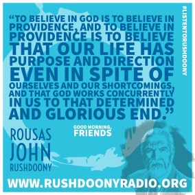 Rushdoony Quote 110