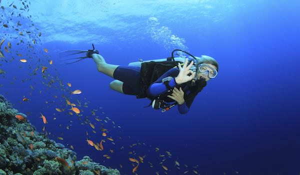 scuba diver fitness copy