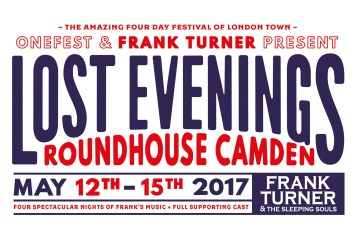 Frank Turner Lost Evenings - FULL LINE-UP ANNOUNCED