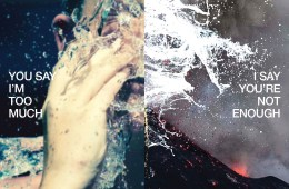 Estrons You Say I'm not enough I say you're too much album review