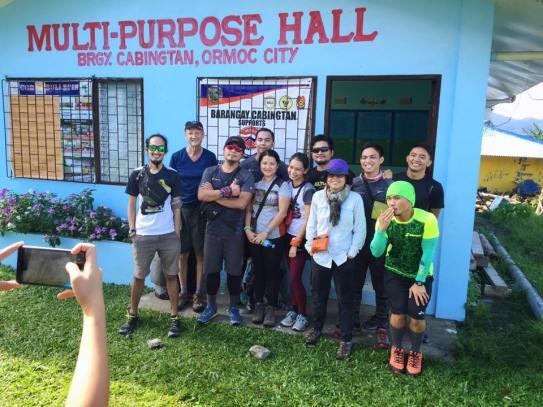 Barangay Cabingtan - Jump off area
