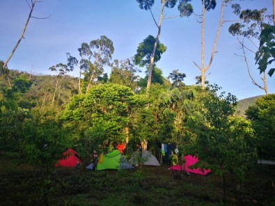 campsite at Lake Danao