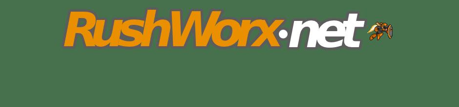 RushWorx dot net logo