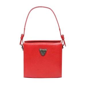 Red MicroB boxy bag