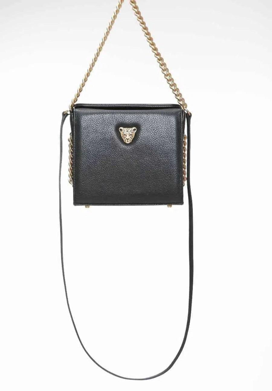 Black MiniB Boxy Bag