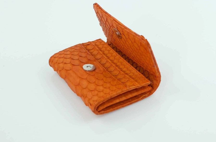3.3 Orange Mini Wallet  scaled
