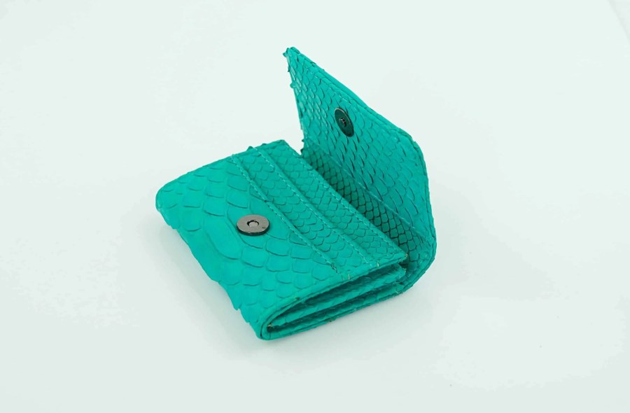 4.3 Sea green mini wallet  scaled
