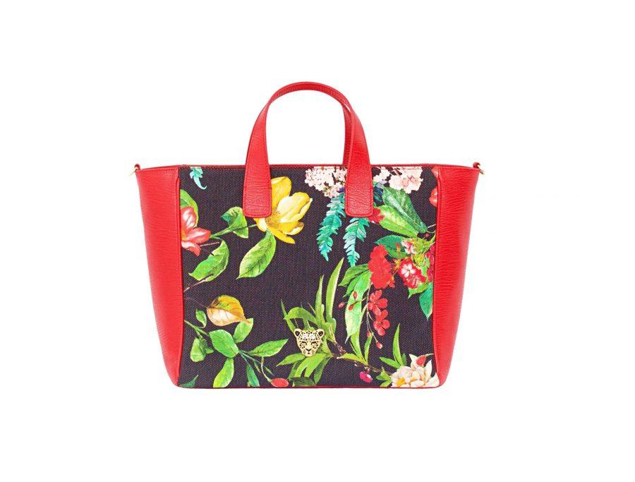 FLOWER G TOTE BAG
