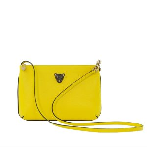 Star 2.0 Bag in Yellow / Cross Body with Black Logo