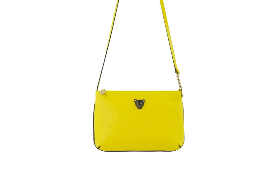 Yellow Black Cross Body