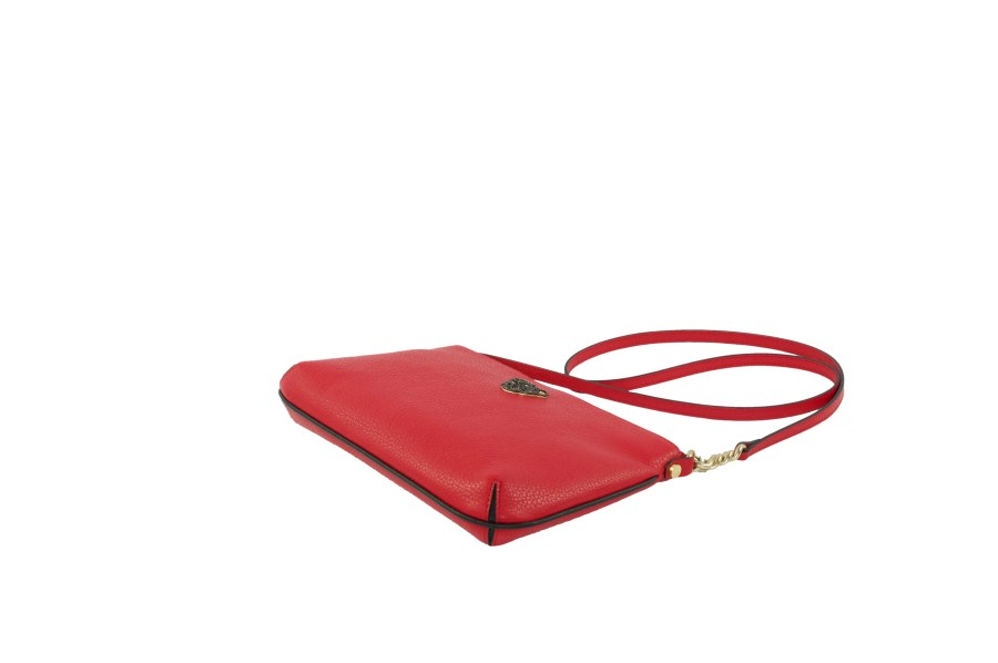 Star 2.0 Bag in Red / Cross Body with Black Logo
