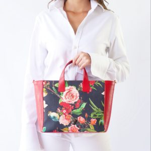 Flower Canvas Tote Bag