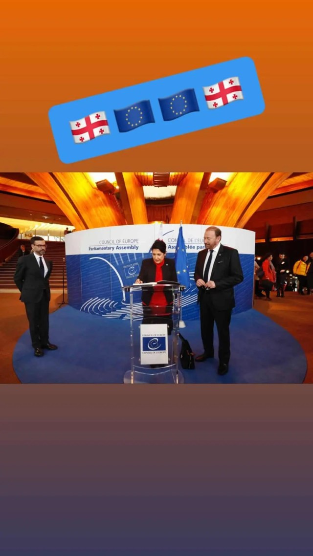 President speach Council of Europe Rusi Bag