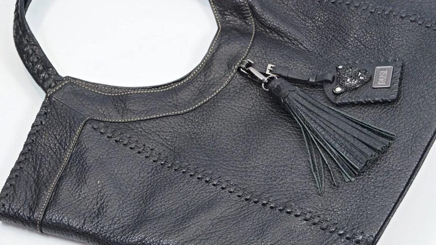 Black Sara bag flat  scaled