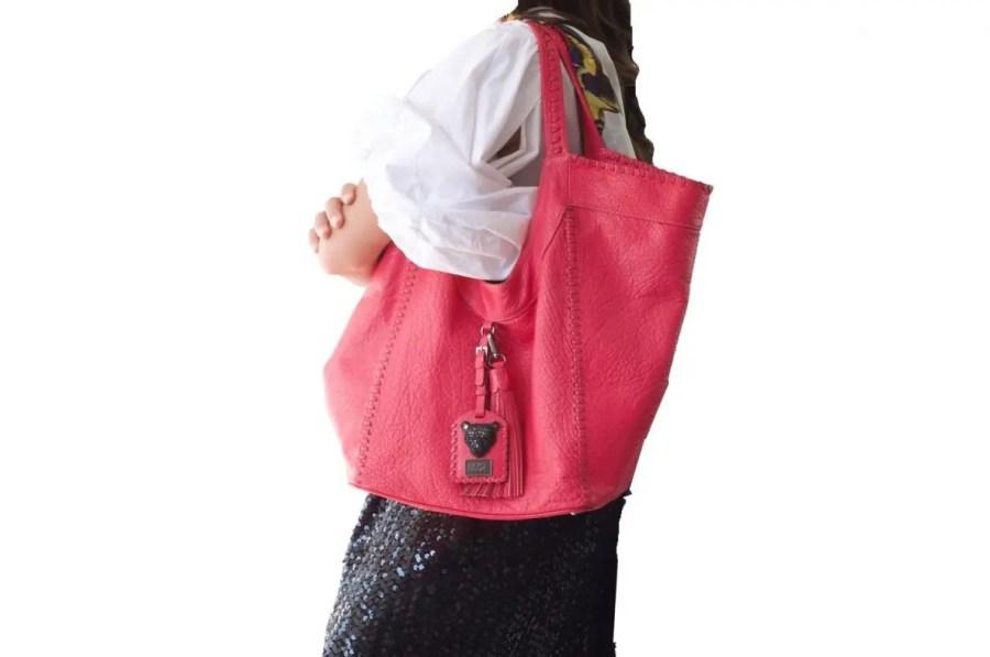 Pink Hobo bag Sara Bag RusiDesigns