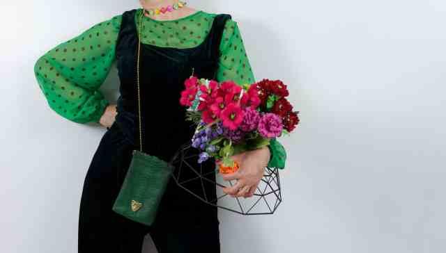 Green Bag Capsule Bag