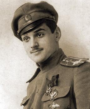 Корнет Юрий Владимирович Гильшер, лётчик-ас