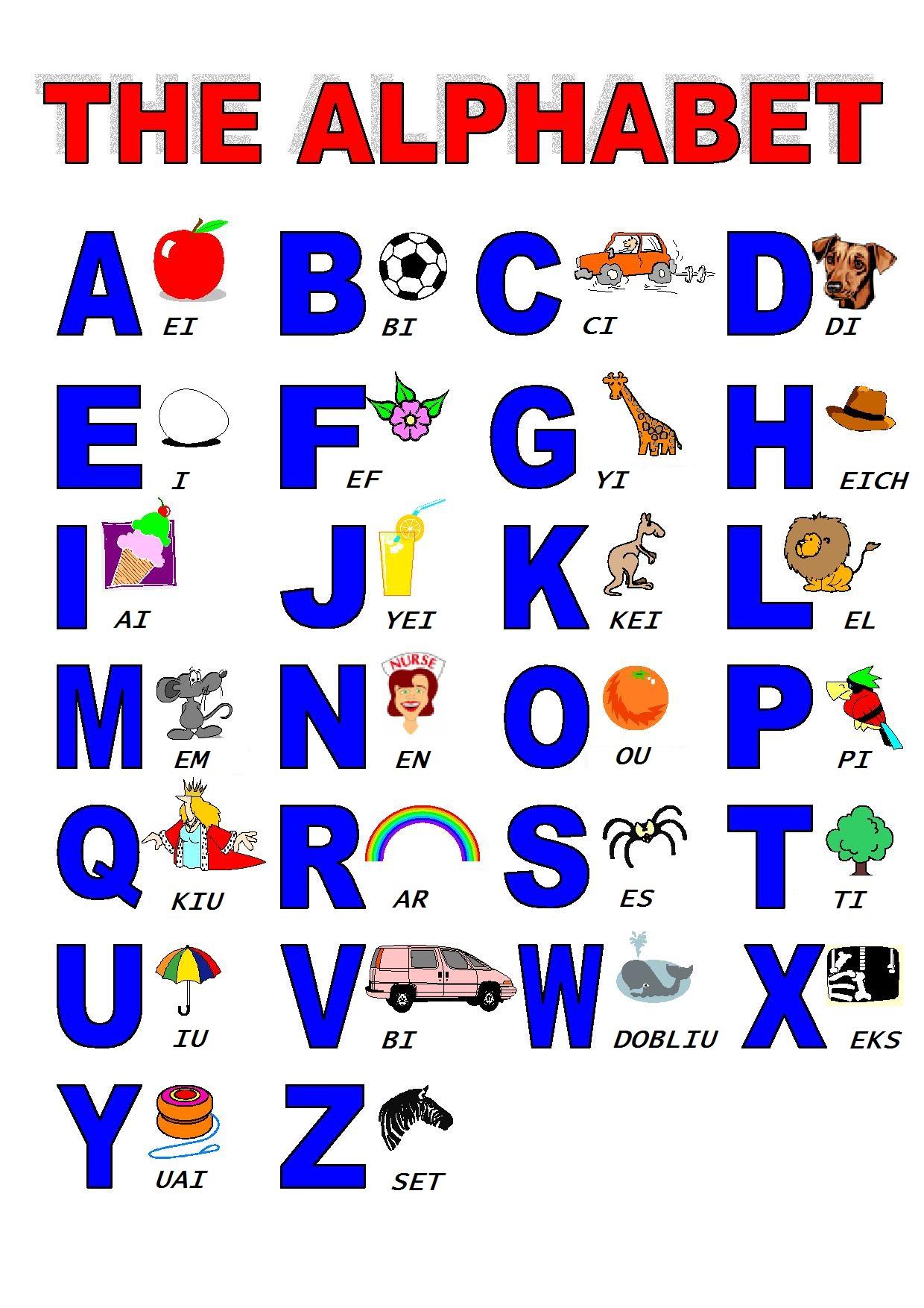 Alphabet Unik