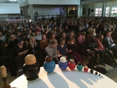Mette holde foredrag om Rusland på Allerød Gymnasium