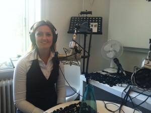 Mette Bærbach Bas bliver interviewet om sin podcastserie: Russisk Business eller Russisk Roulette