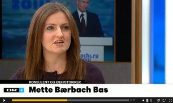 Mette Bærbach Bas i DR2 Deadline