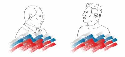 Underbukseforgifter Putin og Navalnyj