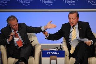Ердоган беше прекъсван, когато ставаше дума за Газа.