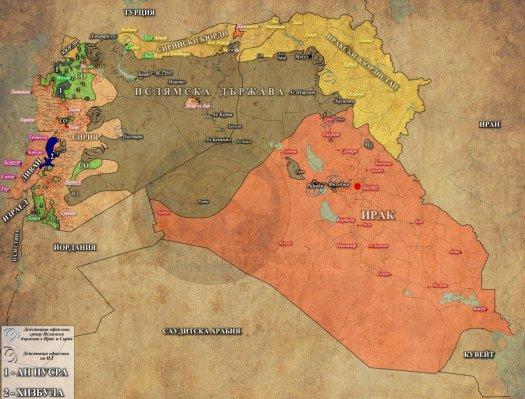 Сирия, Ирак и Ливан - 27.07.2015 г.