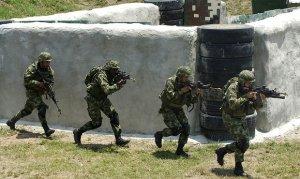 Колумбийски войници. Снимка АФП.