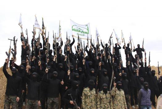 Бойци на Ахрар ал Шам, една от най-ефективните групи на терен в сирийската гражданска война.