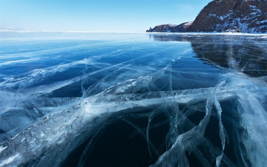 Image result for lake baikal winter