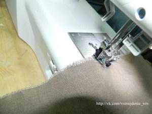 Обработка краев ткани