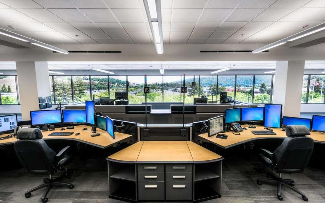 911 dispatch center consoles