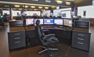 south bay regional communications 911 dispatch console desks