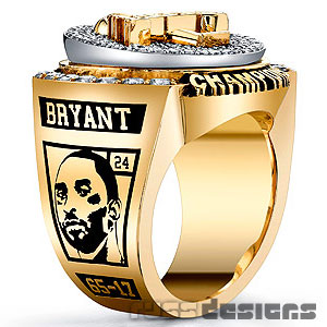 Lakers Bling - 2009 NBA championship ring