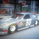 The very first WordPress Paint Scheme on a Nascar.