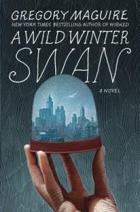 a wild winter swan