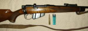 Lee Enfield .303 modified as a hunting rifle