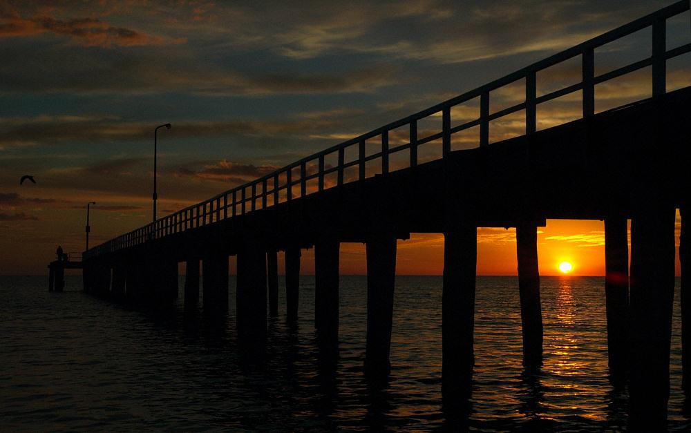 Sunset Pier, Seaford, Victoria.