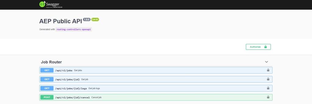 Swagger UI, Really Good Documentation for Alteryx Server.Next