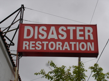disaster sign
