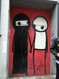 Stickman. Amazing Street Art