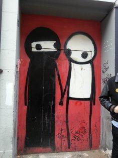 Stickman. Amazing Street Art