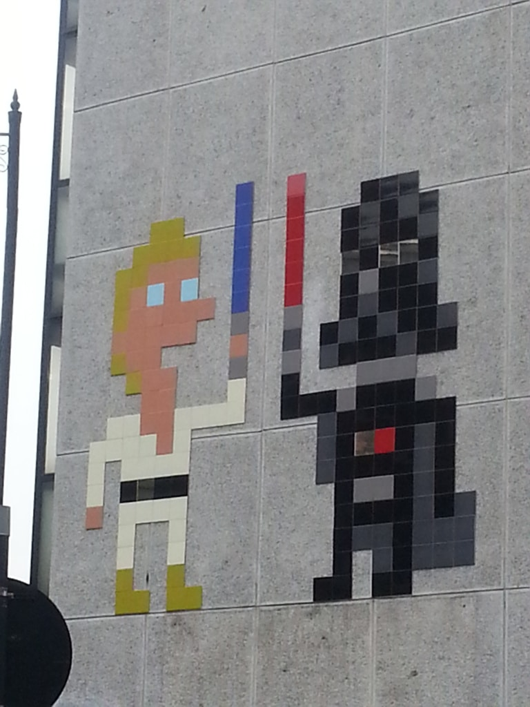 Invader meets Star Wars